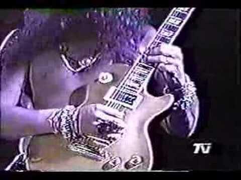 Slash Guitar Solo (Chile '92)