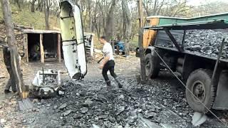 Видобуток вугілля на копанці