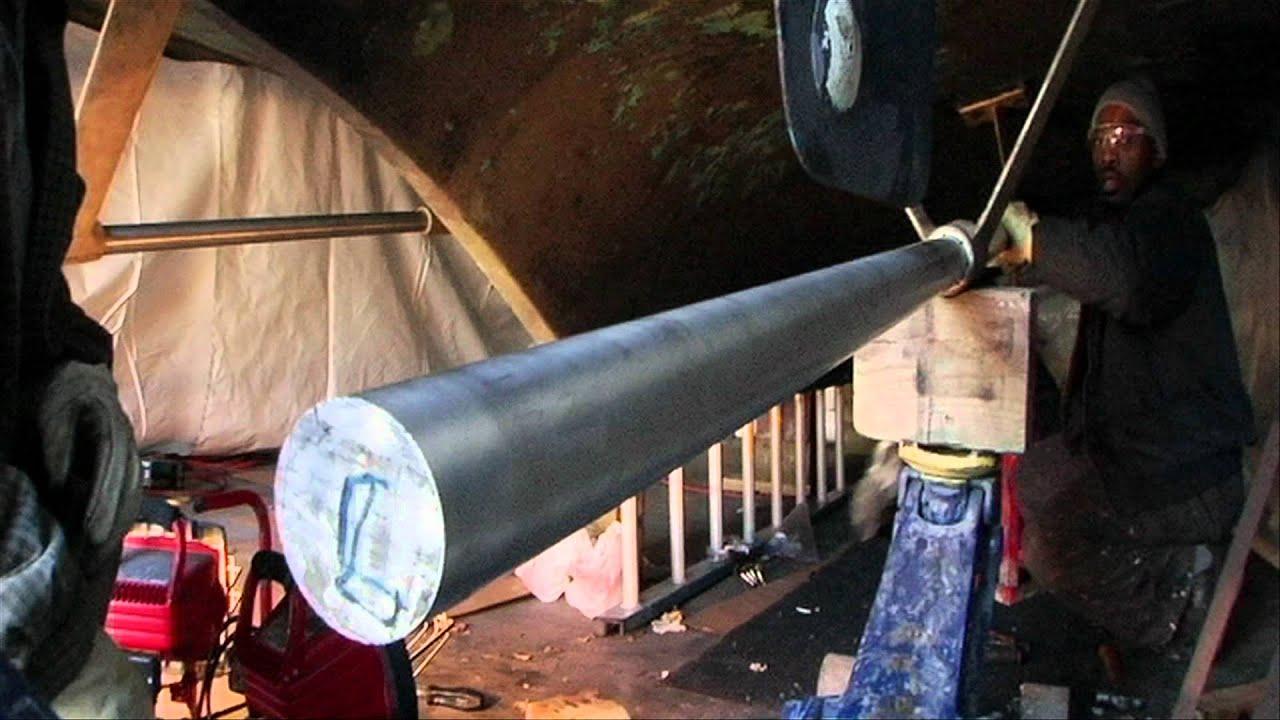 Boat Strut Bushing : Big yacht repower part strut shaft alignment youtube