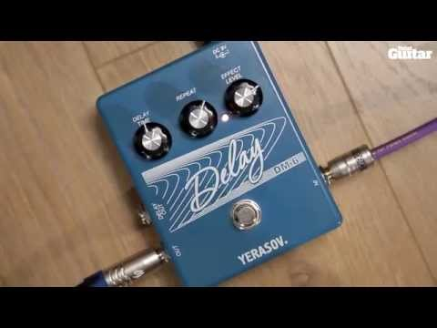 Yerasov Delay DM-6 guitar effects pedal demo