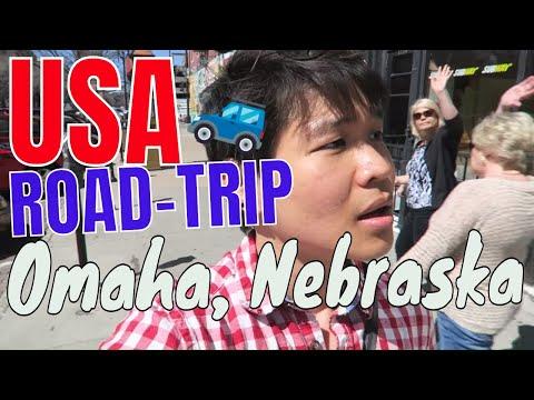 Road Trip: อเมริกา | ท่องเที่ยวโอมาฮา สหรัฐอเมริกา | #DAY2