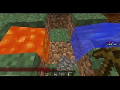 Minecraft skyblock 1.osa täna ma pole üksi :)