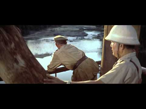 Alec Guinness sick monologue  THE BRIDGE ON THE RIVER KWAI 1957