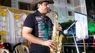 Hindi instrumental Jab koi baath on saxophone by sj prasanna(9243104505)