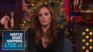 Leah Remini Says Scientology Celebs Shun Her   WWHL