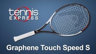 HEAD Graphene Touch Speed S Tennis Racquet Review | Tennis Express