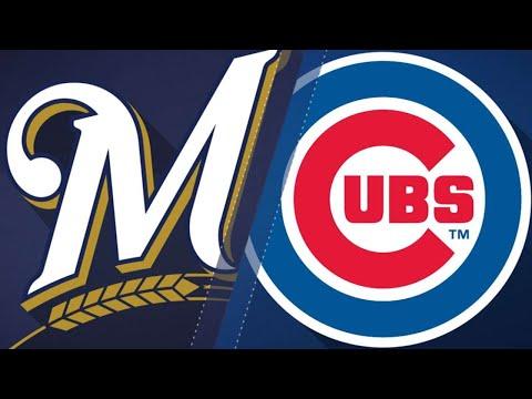 Rizzo, Heyward lead Cubs to 8-4 win: 8/15/18