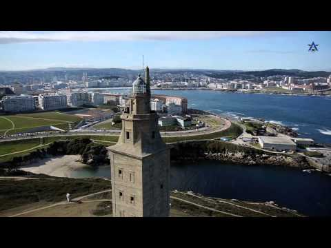 A Coruña. A place to look forward to. English.