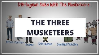 THE THREE MUSKETEERS BY ALEXANDRE DUMAS // ANIMATED BOOK SUMMARY