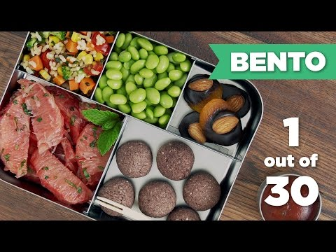 Bento Box Healthy Lunch 1/30 (Vegan) - Mind Over Munch