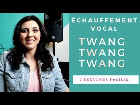 Échauffement vocal rapide: le TWANG, 2 exercices pour la voix (débutant)