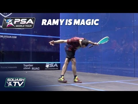 Squash: Ramy Ashour is Magic.