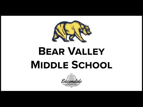 Bear Valley Middle School Shines
