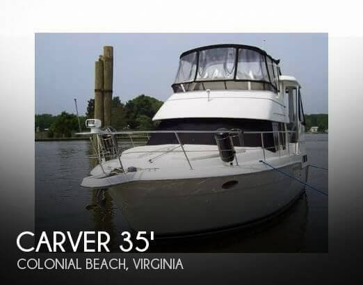 25b8bf91883107 [UNAVAILABLE] Used 1997 Carver 355 Aft Cabin in Colonial Beach, Virginia