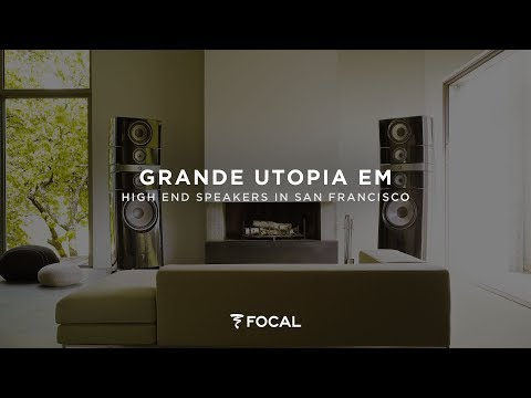 About the Grande Utopia EM - High End Speakers in San Francisco music Studios