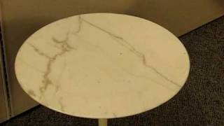 Knoll Saarinen Marble End Table