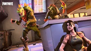 🔴 FORTNITE - TEAM DINOSAURIO A POR VICTORIAS!