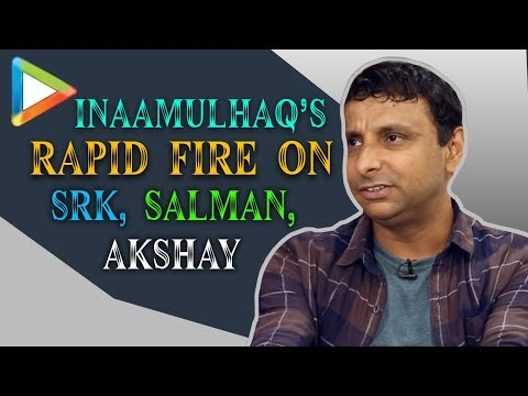 Inaamulhaq Rapid Fire   Salman Khan Ya Shah Rukh Khan?   Questions For Akshay, Ranveer, Alia