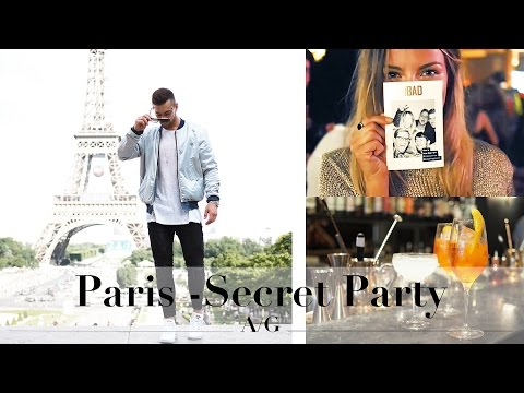 Secret Party in PARIS | Diesel Fragrance Launch | Ali Gordon | Ad