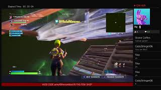 Fortnite live (BODEYGARD TRYOUT)