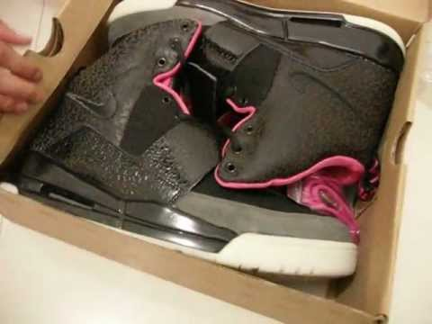 kanye West Nike Air yeezy 1(i) Black/Pink 1:1 Quality From kickssport.com