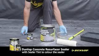 Dunlop Concrete Resurfacer and Sealer