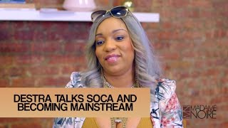Destra Talks Soca Music Becoming Mainstream & Teaches Lucy Wine | MadameNoire