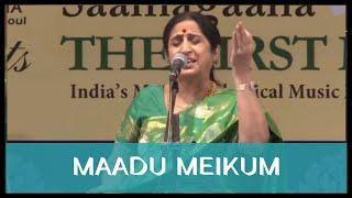 Maadu Meikum Kanne by Smt. Aruna Sairam at Navarasa Sangeethotsava 6th Annual Music Festival 2015