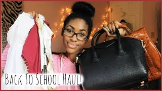 Back to School Haul! 2014-15 Thumbnail