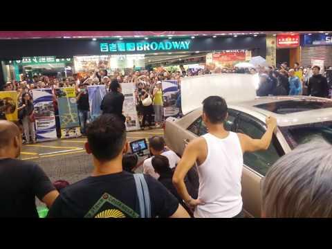 Hong Kong Actor/Director Francis Ng on set