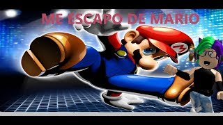 ESCAPING MARIO//SCAPE //ROBLOX