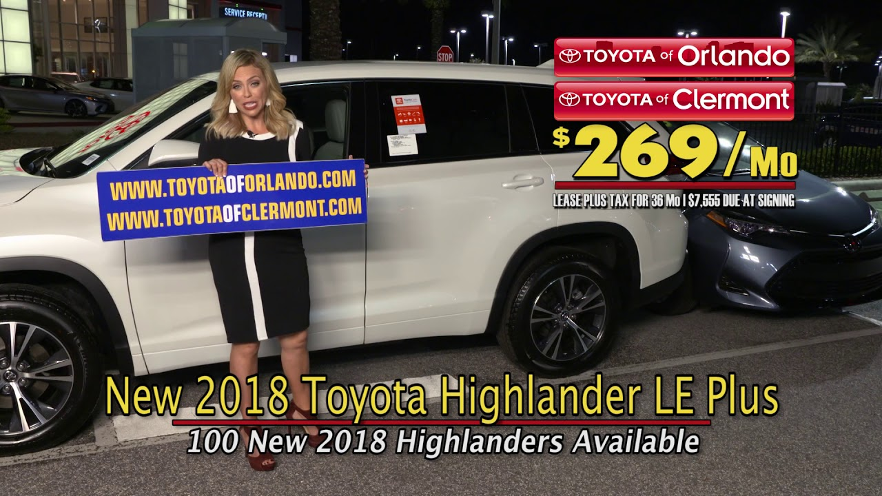 Find Family Fall Fun In The New 2018 Toyota Highlander. Toyota Of Orlando