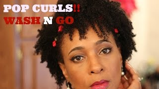 Wash N Go Tutorial | Neutrlab Products | Pop Curls