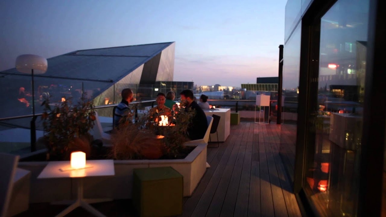 The marker hotel rooftop bar terrace youtube for Hotels on the terrace