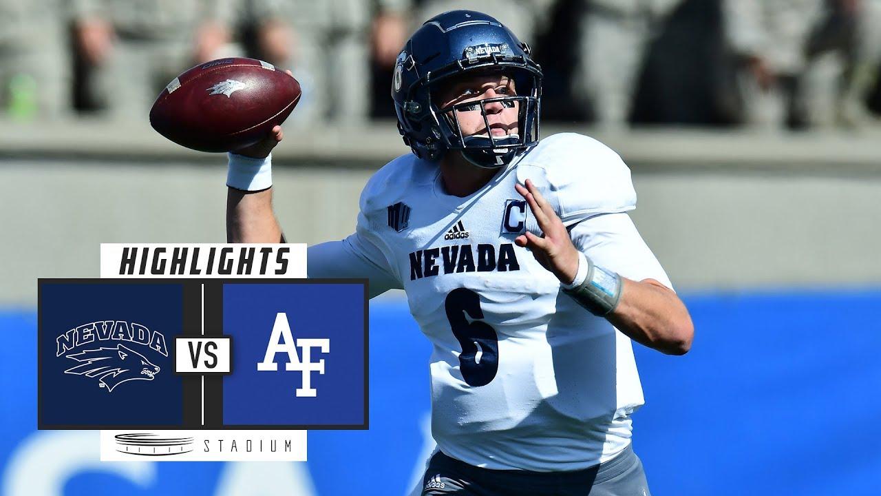 Nevada vs. Air Force Football Highlights (2018) | Stadium ...