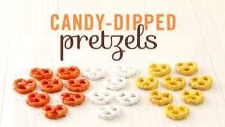 Candy-coated Pretzel Snacks For Kids