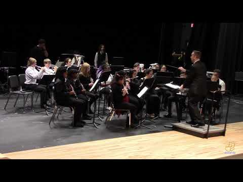 East Wake High School Concert Band performs Joy on 3/27/2019