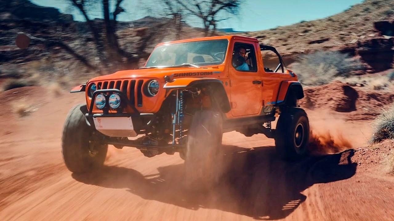 V8 Jeep Wrangler >> New 2019 Jeep Wrangler Sandstorm Mad V8 Tested Youtube