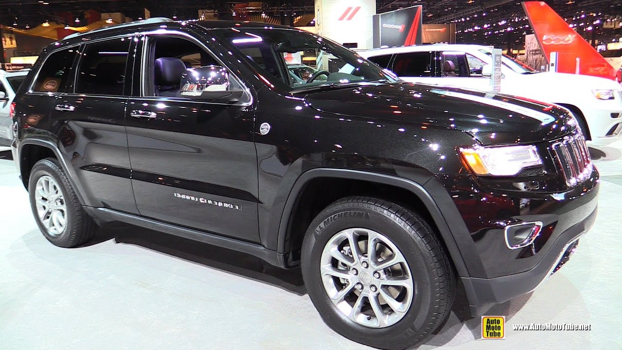 2015 Jeep Grand Cherokee Limited Exterior And Interior