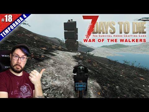 ☠️ EL BARCO PIRATA TROLL! | 7 DAYS TO DIE T4 #18 MOD WAR OF THE WALKERS | Gameplay español