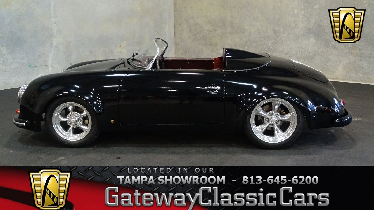 665 Tpa 1956 Porsche 356 Outlaw Air Cooled 2275cc 4 Speed