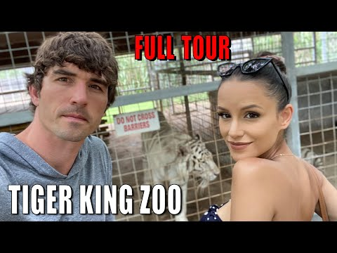 NETFLIX TIGER KING ZOO FULL TOUR... FIRST LOOK AFTER REOPENING!!!