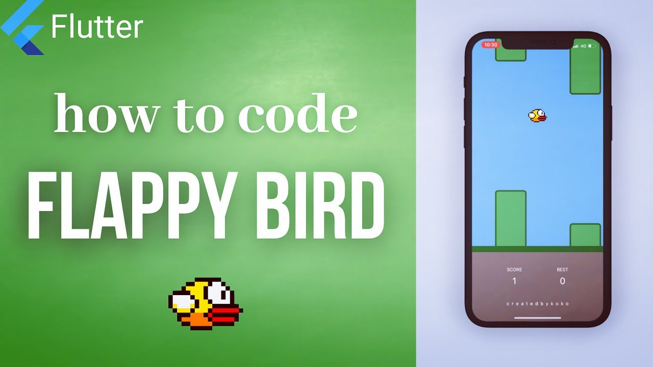 (2021) how to code FLAPPY BIRD from scratch