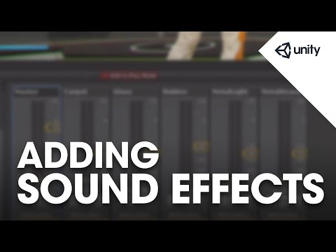 Live Training May 4th, 2015: Adding Sound Effects in Unity 5