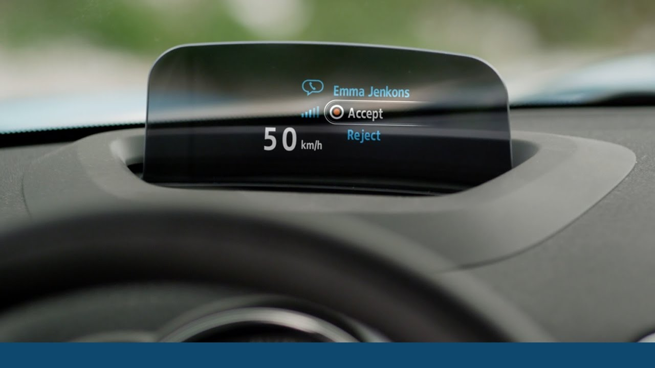 the new mini countryman head up display youtube