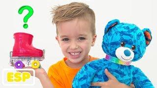 Vlad y Nikita construyen sus propios juguetes