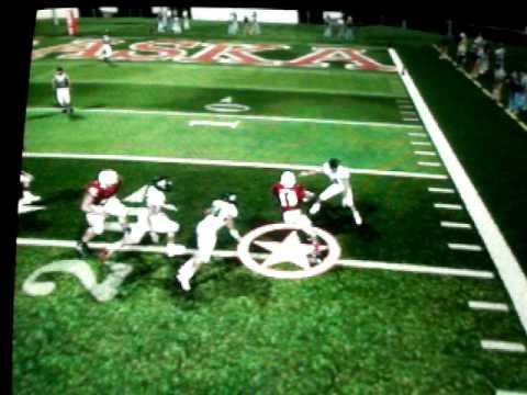NCAA 2010: Quentin Castille fumble, Niles Paul crazy touchdown