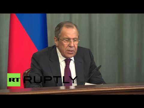 Russia: Lavrov and African Union head discuss Africa-Russia relations, Libya