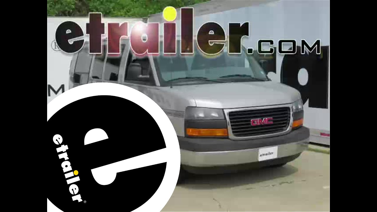 hight resolution of install trailer hitch 2006 gmc savana van 13040 etrailer com