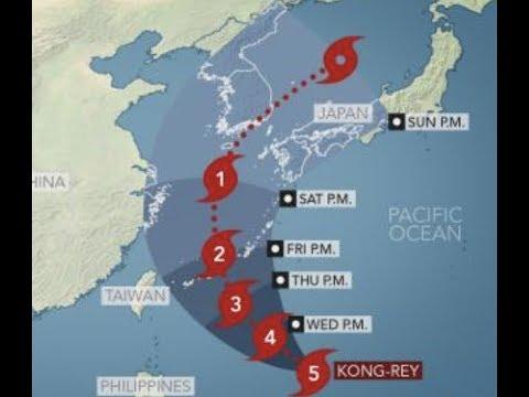 "Prophecy Alert: ""King Kong Rey Super Typhoon To Hit Japan"" Apocalyptic"